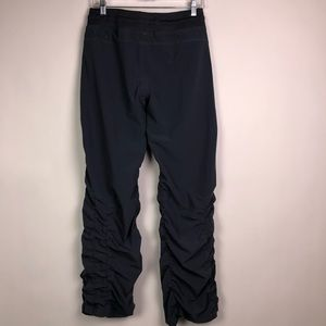 Under Armour Pants - Under Armour Semi Fitted Storm Side Ruched Pants